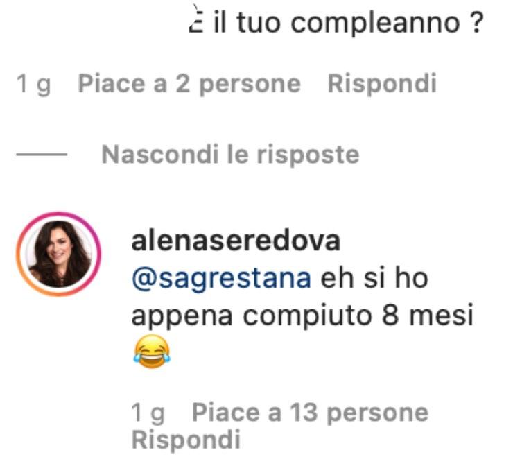 Alena Seredova instagram