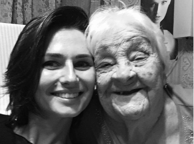 Anna Safroncik e la nonna