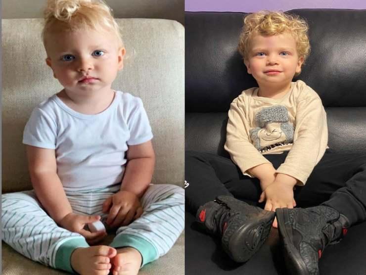 Ferragnez bambina somiglianze