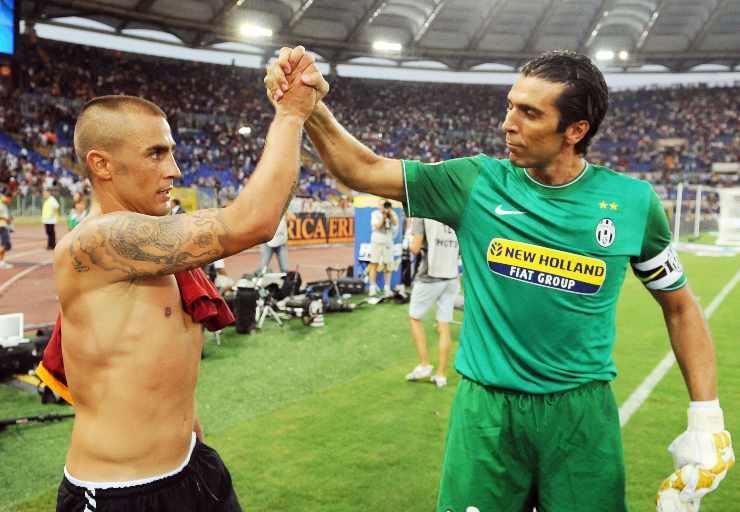 Buffon e Cannavaro