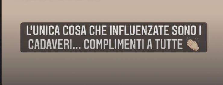 Commento Valentina Vignali