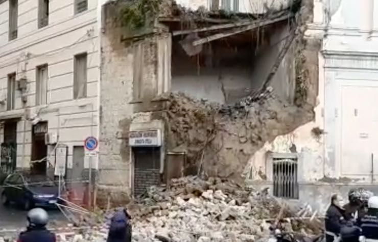 Crollo Chiesa del Rosario