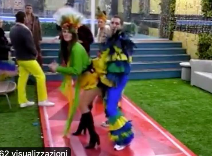 Dayane e Zorzi ballano