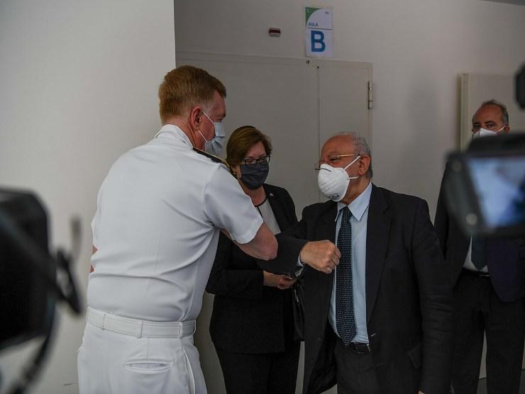 Ospedale del Mare voragine esplosione