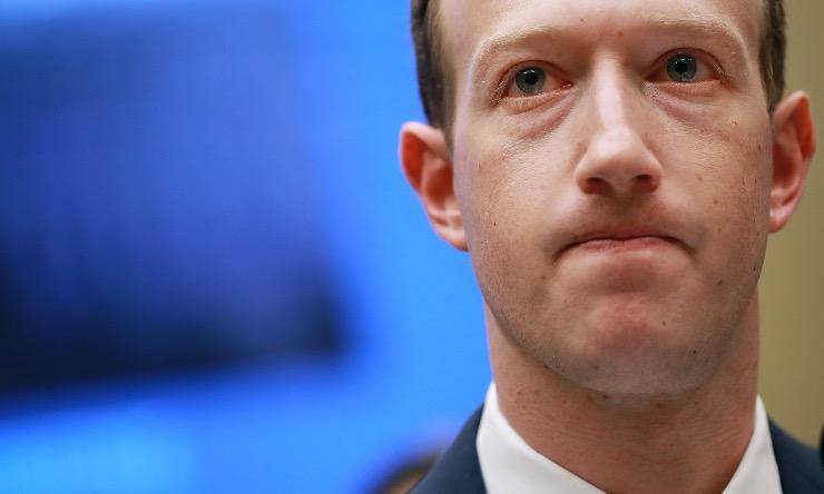 Zuckerberg, Facebook censura