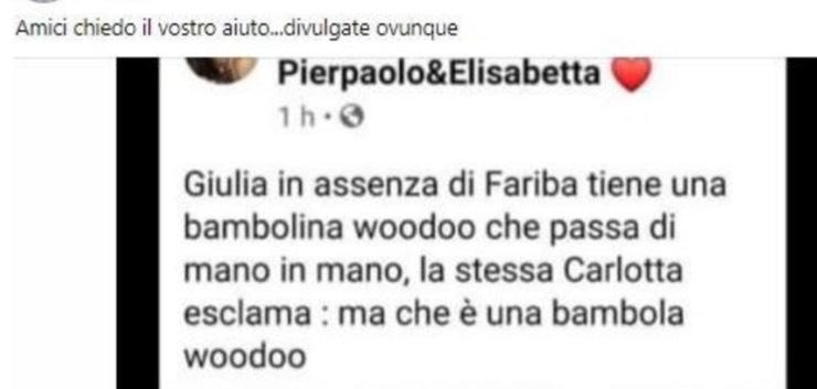 Il post ricondiviso da Maristella Pretelli