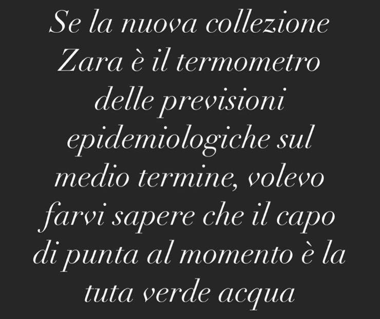 Post Instagram Selvaggia Lucarelli