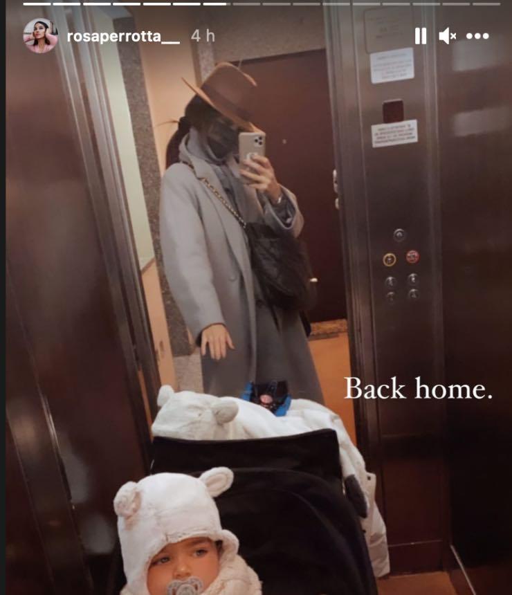 Rosa Perrotta torna a casa