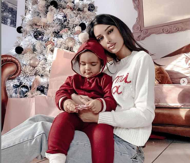 Rosa Perrotta e il piccolo