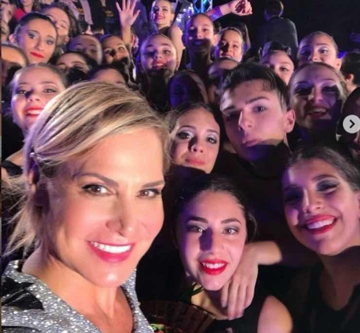 Simona Ventura e i fans