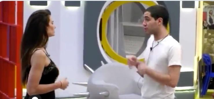 Stefania e Zorzi litigano