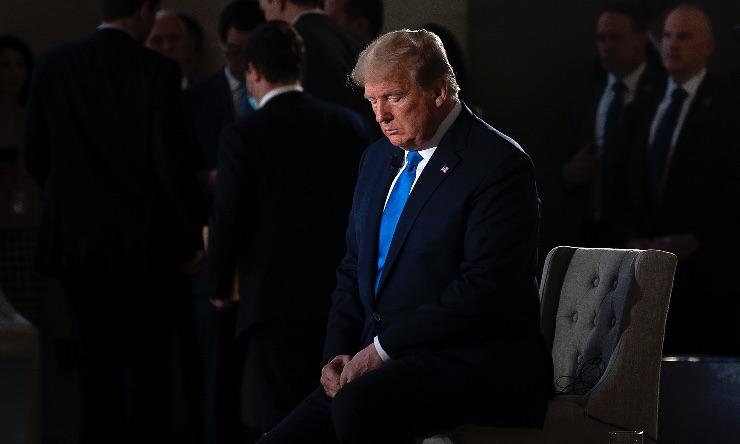 Trump censurato