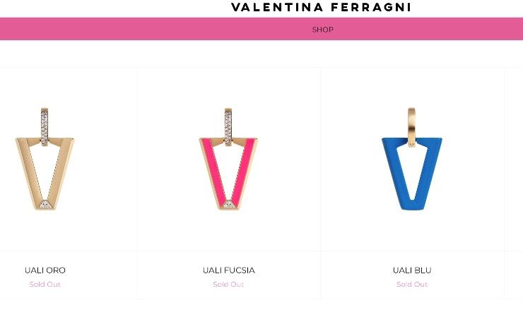 Valentina Ferragni shop