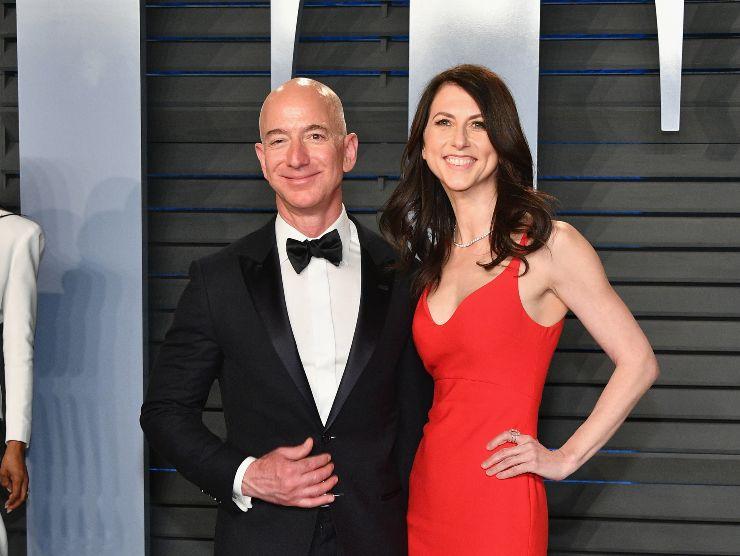MacKenzie Scott Jeff Bezos divorzio