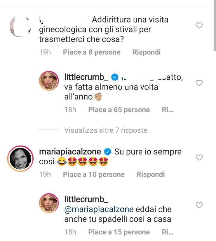 commenti Elisabetta Canalis