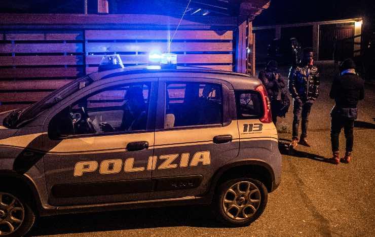 polizia villa gordiani