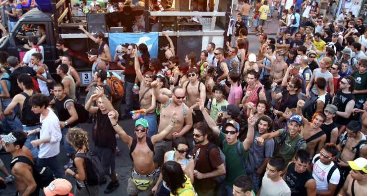 rave-party Francia