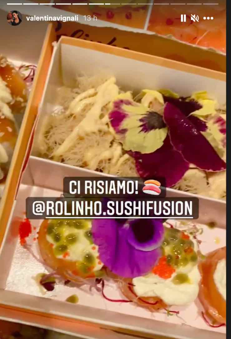 sushi Valentina Vignali