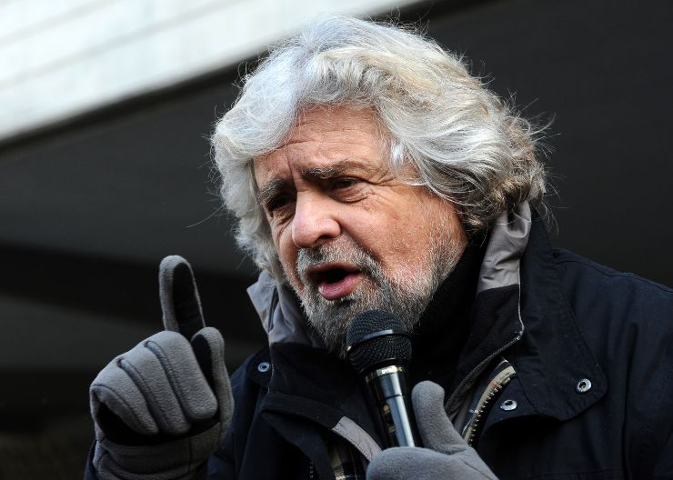 Beppe Grillo Boschi