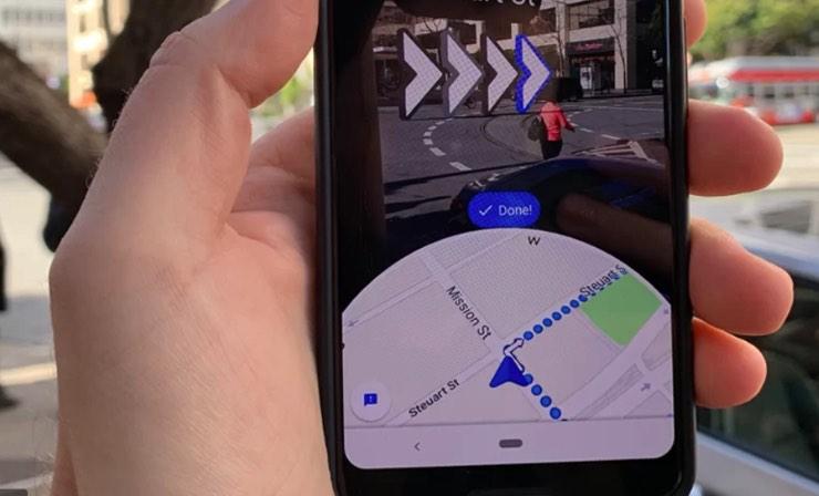 Google maps aggiornamento live view