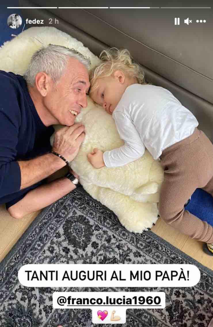 Il papà di Fedez e il nipote