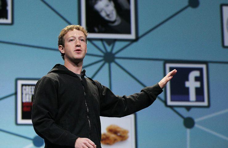Zuckerberg rivelazione assurda