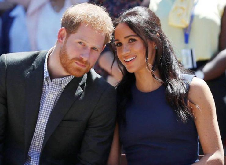 Harry e Meghan Markle Royal Family