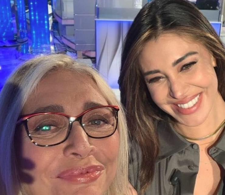 Mara Venier e Belen Rodriguez