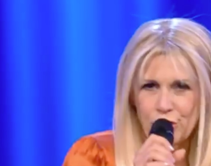 Maria Teresa Ruta da Maurizio Costanzo