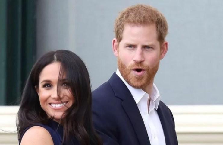 Meghan Markle e il principe Harry felici
