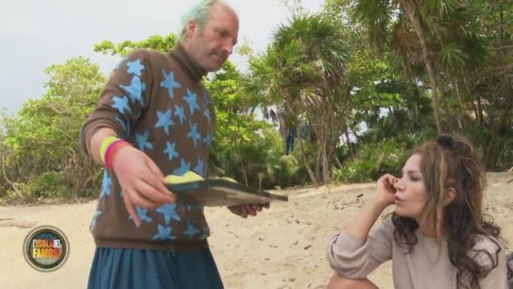 Fariba e Ubaldo all'Isola dei Famosi