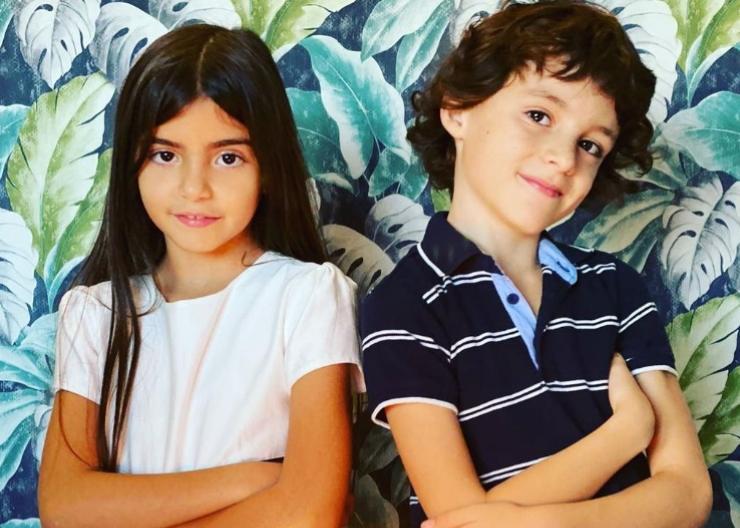 Alessia Fabiani figlio serie tv