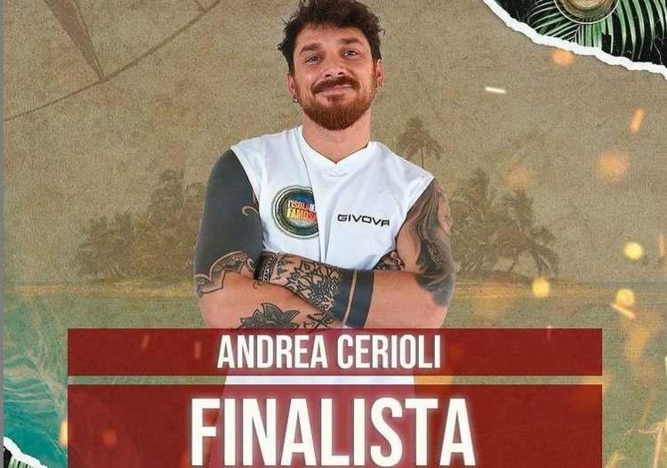 Andrea Cerioli primo finalista