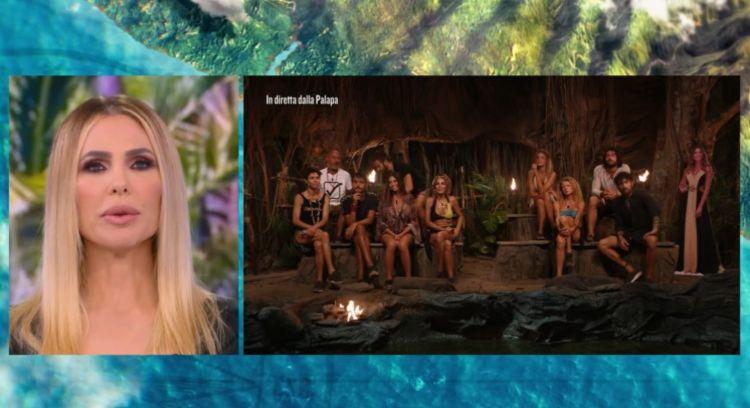 La palapa della sedicesima puntata dell'Isola