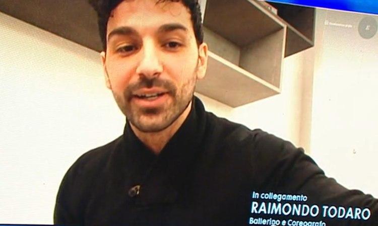 Raimondo Todaro ad Amici 20