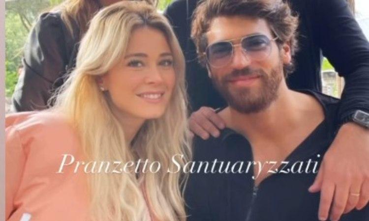 Nuova foto di Can Yaman e Diletta Leotta