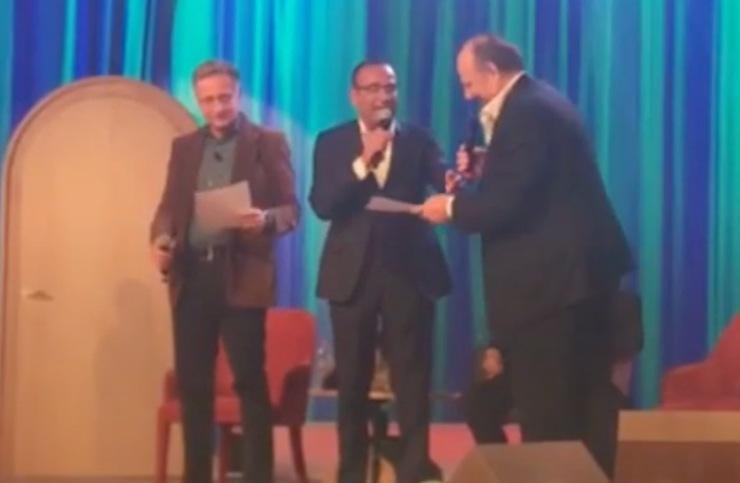 Conti e Bonolis al Maurizio Costanzo Show
