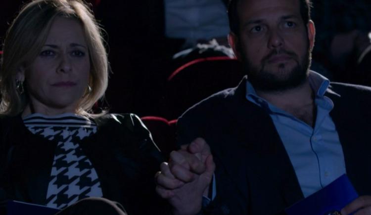 Giancarlo e Silvia mano nella mano