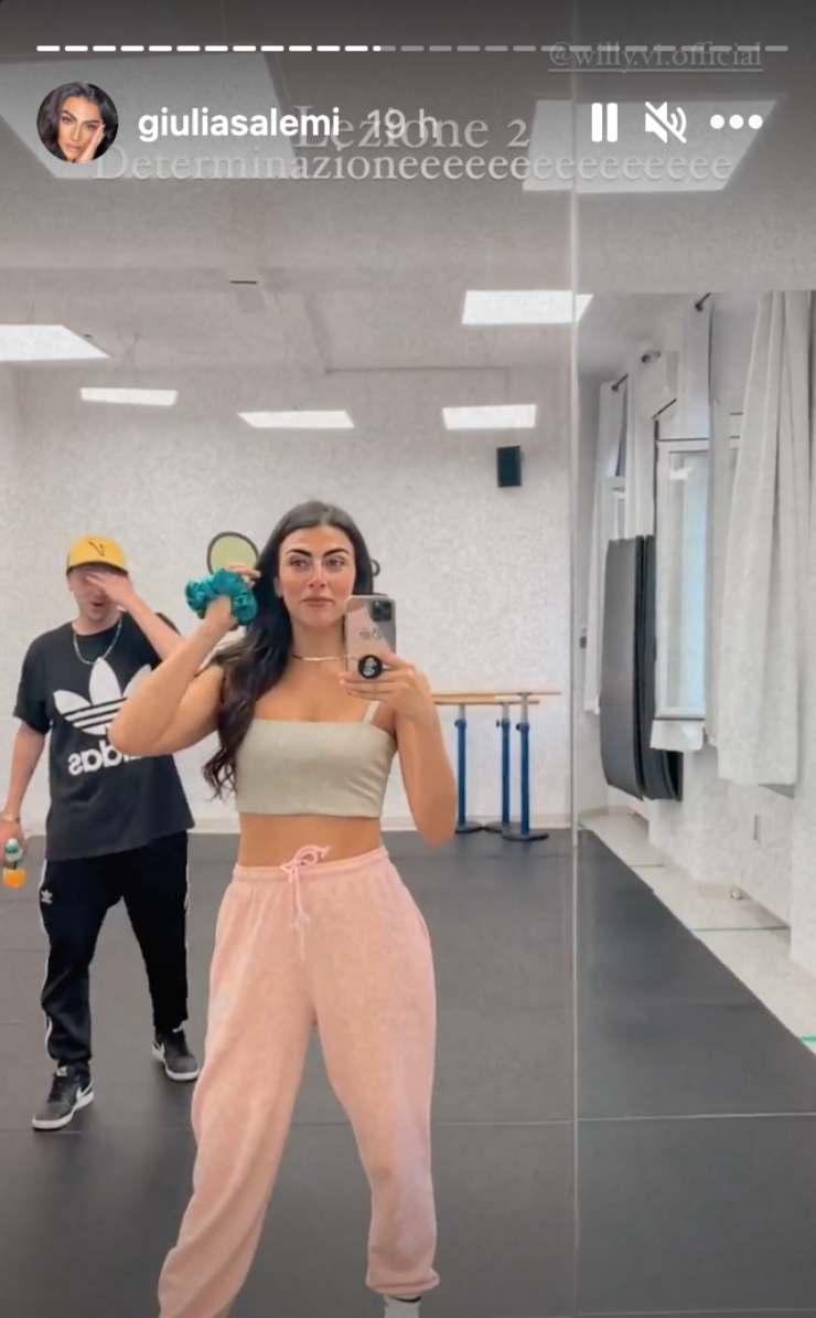 Storia Instagram di Giulia Salemi