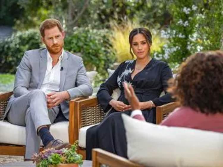 Harry e Meghan da Oprah