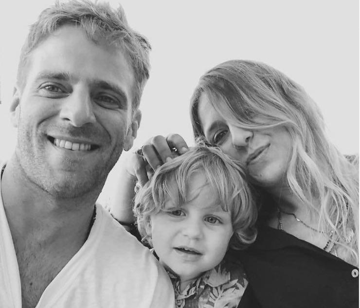 Myriam, Quentin e il figlio