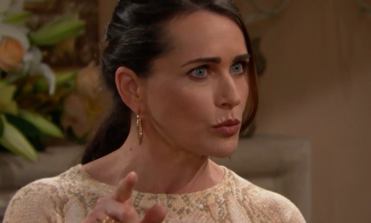 Quinn punta il dito contro Brooke Beautiful