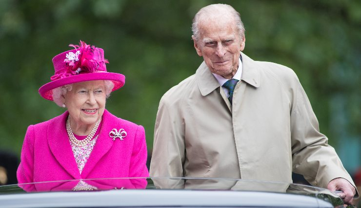 Regina Elisabetta II e Principe Filippo