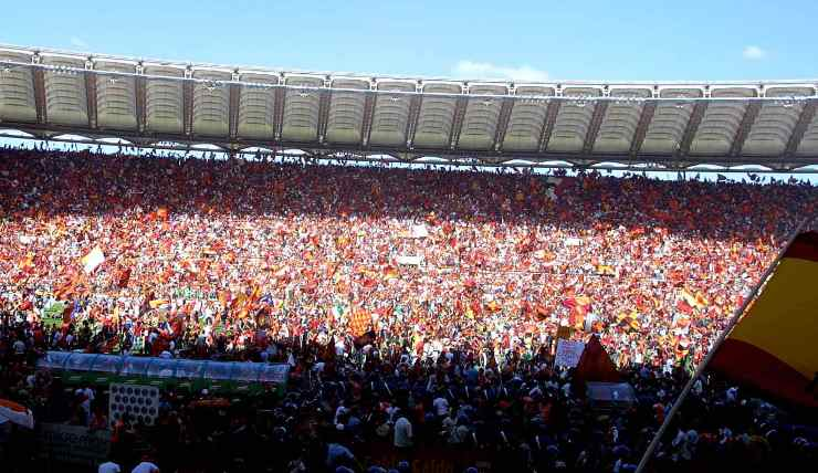 Stadio Olimpico - Curva AS Roma