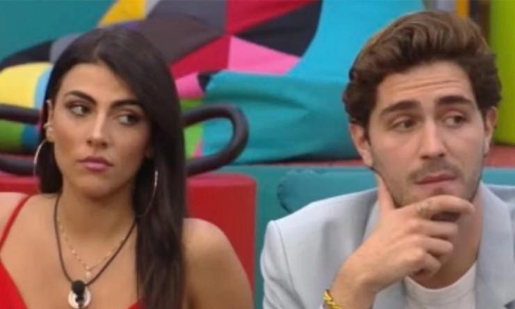 Tommaso Zorzi e Giulia Salemi al GF Vip
