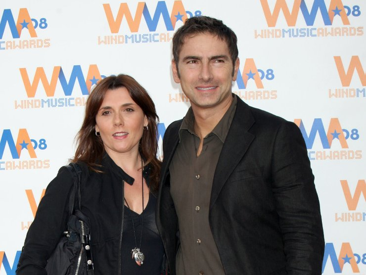 Marco Liorni famiglia moglie