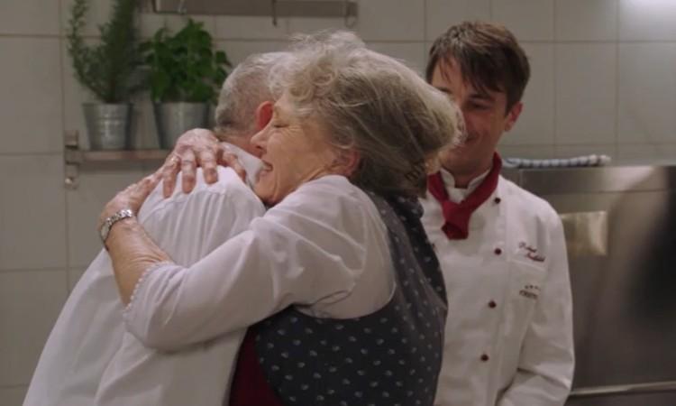André torna in cucina Tempesta D'Amore