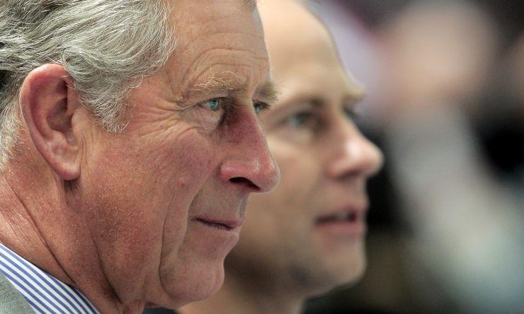 Principe Carlo e fratello Edoardo
