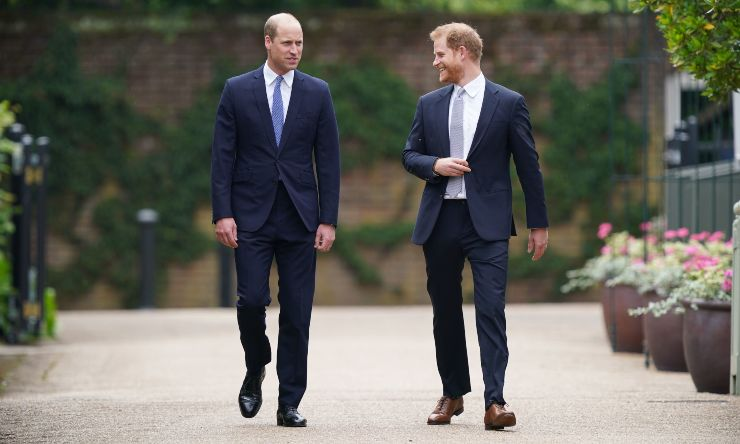 William e Harry tregua