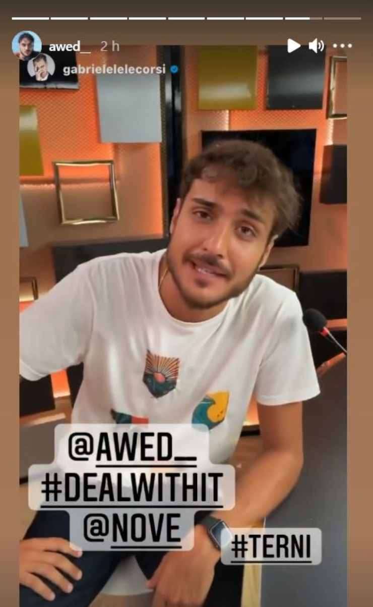Awed ospite programma tv, Deal with it
